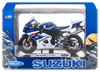 "Мотоцикл Welly ""Suzuki GSX-R750"""
