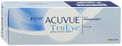 ���������� ����� Acuvue - Acuvue���������� �����<br>1-Day Acuvue TruEye R:=8.5; D:=-6.0 - ������ ���������� �����, ������� 30 ��*2,4� Acuvue<br>