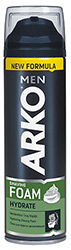 Для и после бритья ArkoДля и после бритья<br>Пена для бритья Arko Men Hydrate, 200мл Arko<br>