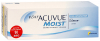 1-Day Acuvue Moist for Astigmatism A:=180; L:=-0.75; R:=8.5; D:=+4,0 - контактные линзы 30шт
