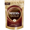 Кофе Nescafe Gold растворимый пакет 0,19кг