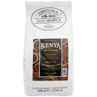 Кофе Dell`Arabica Kenya АА Washed в зернах 500г