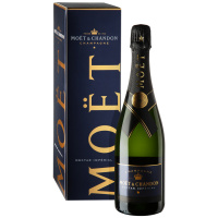 Шампанское Mоet & Chandon Nectar Imperial (Моэт и Шандон Нектар Империаль ) полусухое белое 12% 0,75л в п/у