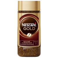 Кофе Nescafe Gold растворимый сублимированный 95г